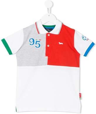 Harmont & Blaine Junior color block polo shirt