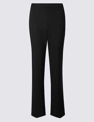 Marks and Spencer Ponte Straight Leg Trousers