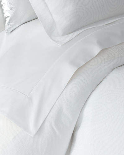 Full/Queen Lush Sateen Flat Sheet