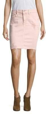 AG Jeans Erin Pencil Vintage Distressed Skirt