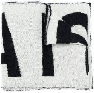 Faith Connexion logo print scarf