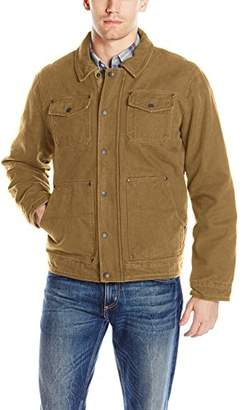Bass GH Men's Laydown Collar Two Pocket Depot Jacket Woodsman Plaid Lining