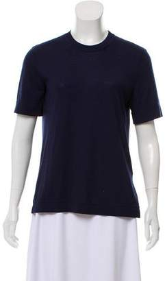 Givenchy Short Sleeve Scoop Neck T-Shirt