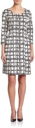 Natori Women's Printed Side-Tie Dress