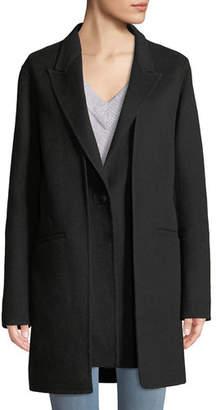 Rag & Bone Kaye Wool Single-Button Coat with Vest
