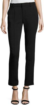 RACHEL Rachel Roy Ingrid Straight-Leg Ankle Pants, Black $59 thestylecure.com