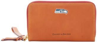 Dooney & Bourke NFL Seahawks Zip Around Phone Wristlet
