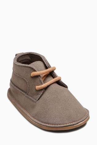 Boys Grey Crawler Desert Boots (Younger Boys) - Grey