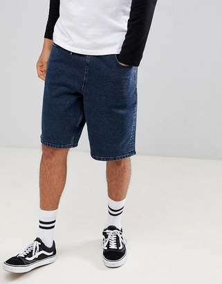 Asos DESIGN denim shorts in relaxed fit with drawcords