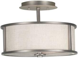 Kenroy Home Whistler 2-Light Semi-Flush Ceiling Light