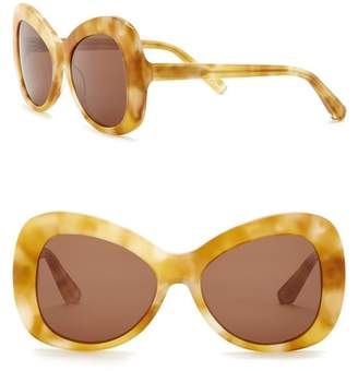 Elizabeth and James Palmer 54mm Butterfly Sunglasses
