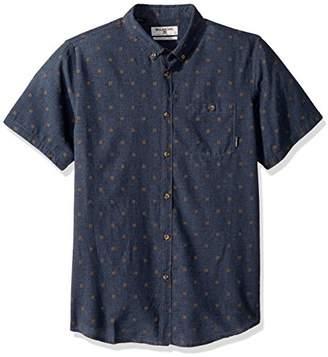 Billabong Men's All Day Jacquard Short Sleeve Woven Shirt