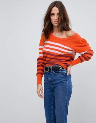 Free People Complete Me Alpaca Blend Stripe Sweater
