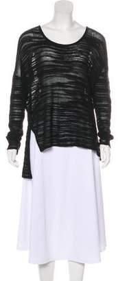 Helmut Lang HELMUT Knit Angora-Blend Tunic
