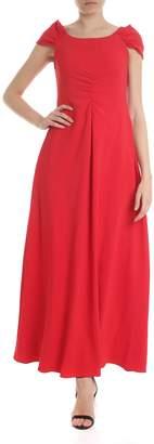 Emporio Armani Draped Long Dress