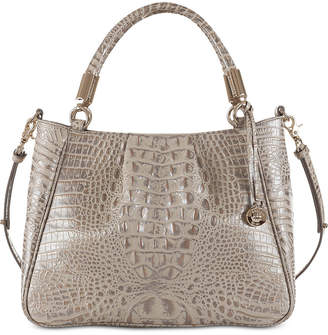 Brahmin Melbourne Ruby Embossed Leather Satchel exclusive to Macy