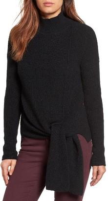 Women's Halogen Tie Hem Sweater $79 thestylecure.com