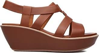 Camper Women's Damas T-Strap Wedge Sandal