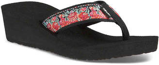 Teva New Mandalyn Wedge Flip Flop - Women's