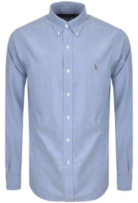 Ralph Lauren Core Oxford Shirt Blue