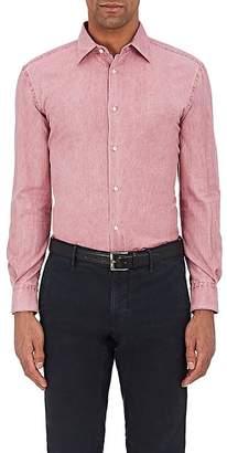 Piattelli MEN'S WASHED COTTON OXFORD-CLOTH SHIRT
