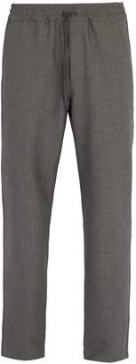 Barena VENEZIA Drawstring-waist stretch-weave trousers