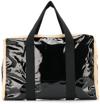 Kassl Editions large zipped tote bag