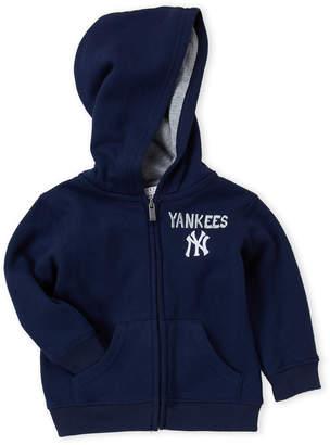 New York Yankees Infant) Navy Yankees Zip-Up Hoodie