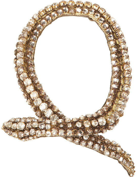 Snake Necklace by Vera Wang