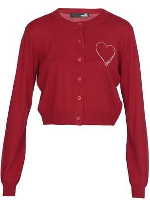 Love Moschino Silk And Cotton Cardigan