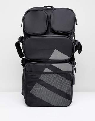 adidas EQT Backpack In Black CE5550