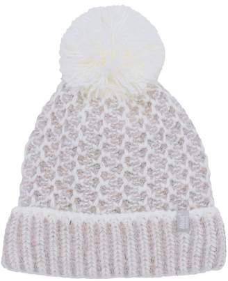 99e7c93dc4c M Co Heat Holders chunky knit pom pom hat