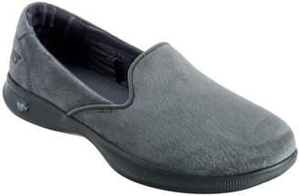 Skechers GOstep Lite Suede Slip-On Shoes - Indulge