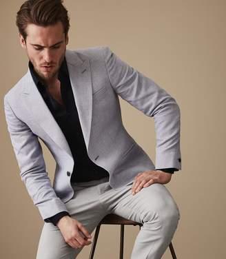 Reiss Jaydon - Slim Fit Blazer in Light Blue