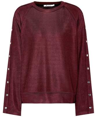 Alexander Wang Cotton-blend sweater