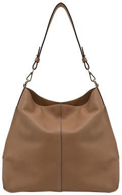 Mint Velvet Harley Leather Shoulder Bag, Tan