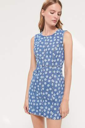 Urban Outfitters Cohen Denim Crew Neck Mini Dress