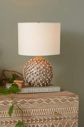 Anthropologie Beaded Table Lamp Base