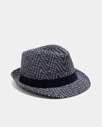 Ted Baker BISLEE Herringbone trilby hat