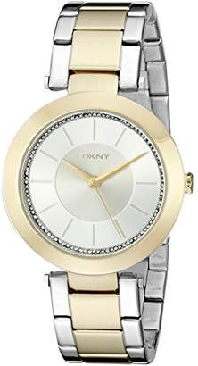 DKNY DNKY5) Women's Quartz Watch with Rose Gold Dial Analogue Display and Rose Gold Stainless Steel Bracelet NY2334