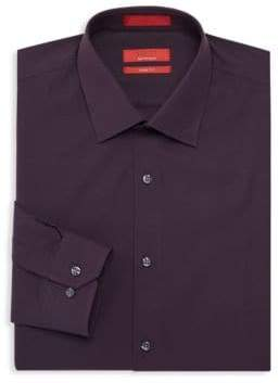 Saks Fifth Avenue RED Slim Fit Dress Shirt