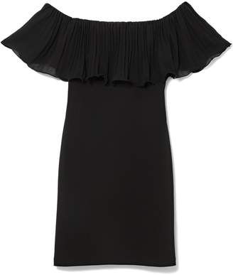 Vince Camuto Off-the-shoulder Popover Dress