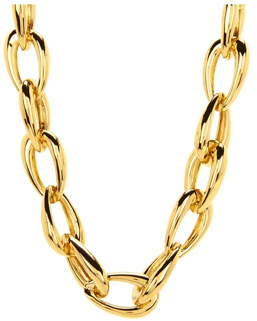 "Vince Camuto 18"" Asymmetrical Link Necklace"