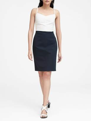 Banana Republic Petite Strappy Bi-Stretch Sheath Dress