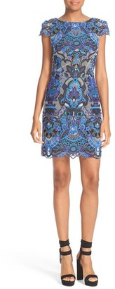Women's Alice + Olivia Nakia Lace Dress $440 thestylecure.com