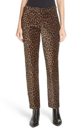 A.L.C. Harrison Marina Leopard Print Pants