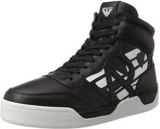 Armani Jeans High Top Mens Sneakers