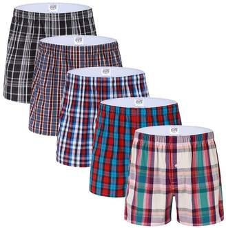 Trunks SLJ Mens Underwear Solid Color Cotton for Men and Boys
