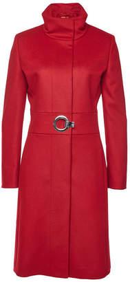 HUGO Mivana Virgin Wool Coat