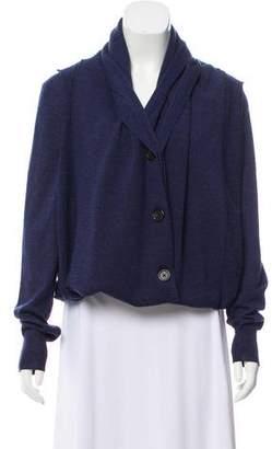 Maison Margiela Wool Button-Up Cardigan